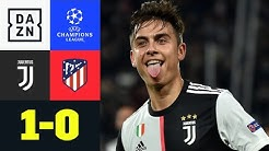 DYBALISSIMO FANTASTICOOOO: Juventus - Atletico Madrid 1:0 | UEFA Champions League | DAZN Highlights
