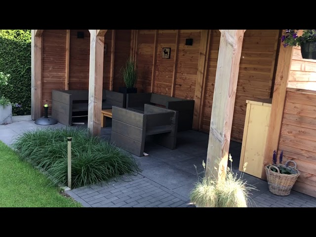 Rondleiding door een kindvriendelijke moderne tuin!