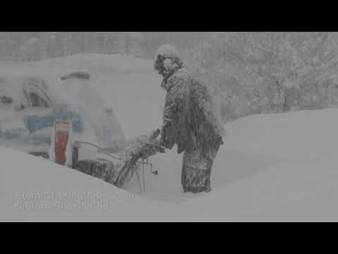 Jefferson County, NY Blizzard Whiteout - 1/31/2019