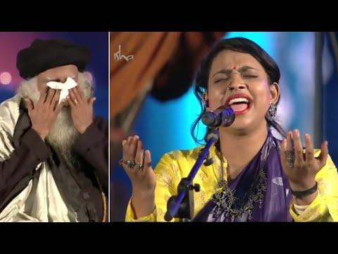 Ananya Bhat Outstanding Performance   Sojugada Sooju Mallige Song   Sadhguru