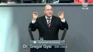 Gregor Gysi, DIE LINKE: »Sie sind die Bundeskanzlerin der Lobbyisten«