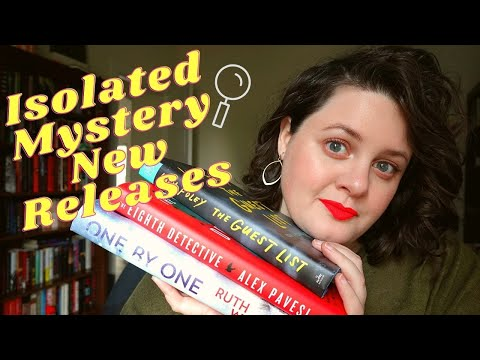 New Release Isolated Mystery Review | ONE BY ONE, THE GUEST LIST, & THE EIGHTH DETECTIVE