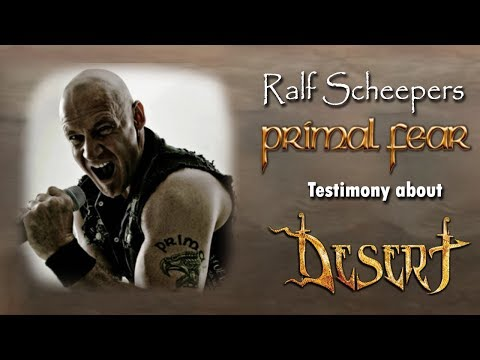 Ralf Scheepers (PRIMAL FEAR) testimony - Desert band - Crowdfunding Campaign