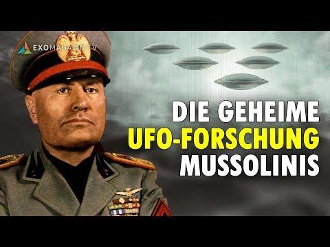 Die geheime UFO-Forschung Mussolinis (Dr. Roberto Pinotti) - ExoMagazin