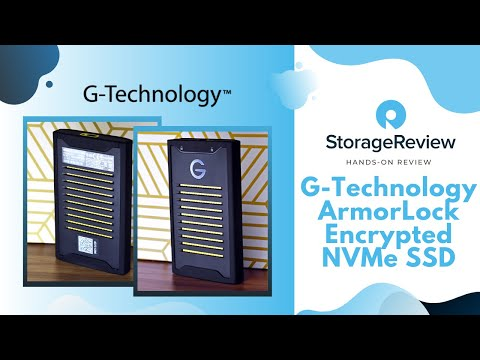 G-Technology ArmorLock Encrypted NVMe SSD Review