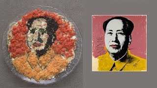 Andy Warhol Chairman Mao Russian Salad (Pop Food Art )