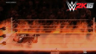 WWE 2K16 - Inferno Match - Sting vs Stardust ✦ 【WWE 2K16 - Last Gen - Xbox 360 PS3】(Also check out