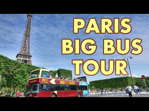 PARIS - BIG BUS TOUR 4K