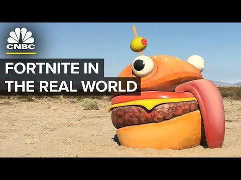 Fortnite Season 5 In Real Life | CNBC
