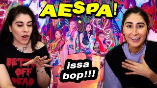 aespa 'Black Mamba' MV 🤯🔥 FIRST TIME REACTION!