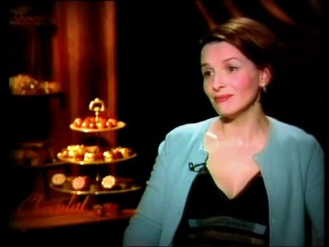 "Interview for ""Chocolat"" to Juliette Binoche"