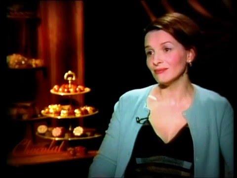"""Interview for """"Chocolat"""" to Juliette Binoche"""