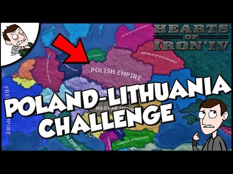 Thumbnail: Trying to Recreate the Poland-Lithuania Empire Challenge Hearts of Iron 4 hoi4 Mod Gameplay