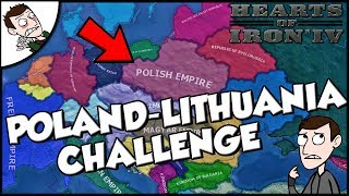 Trying to Recreate the Poland-Lithuania Empire Challenge Hearts of Iron 4 hoi4 Mod Gameplay