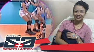The Score: AdU Lady Falcons' Jema Galanza gives update about her injured right foot