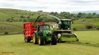 Silage with Claas, Fendt and John Deere.