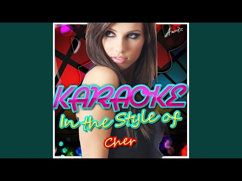 One By One (In The Style Of Cher) (Karaoke Version)