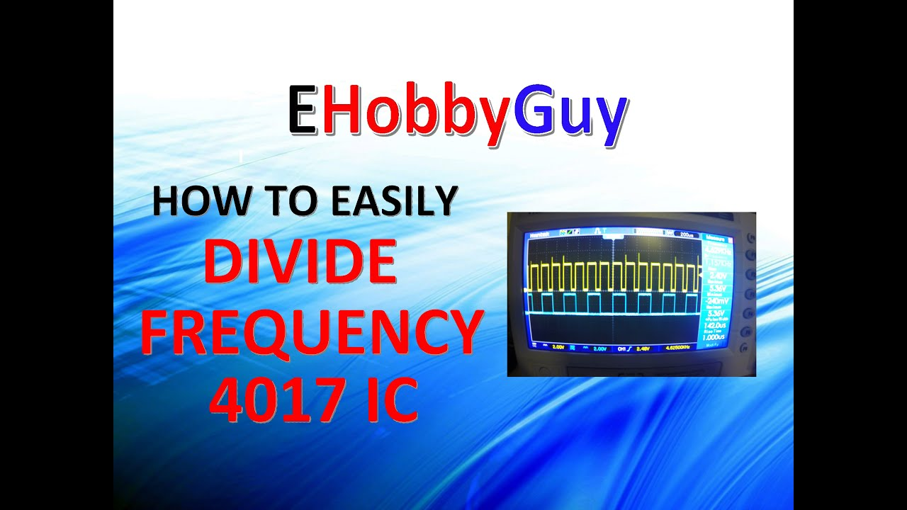 Easy Frequency Divider 4017 Ic Youtube Decadecounteric Led Chaser Circuit Diagram The Consist Of A