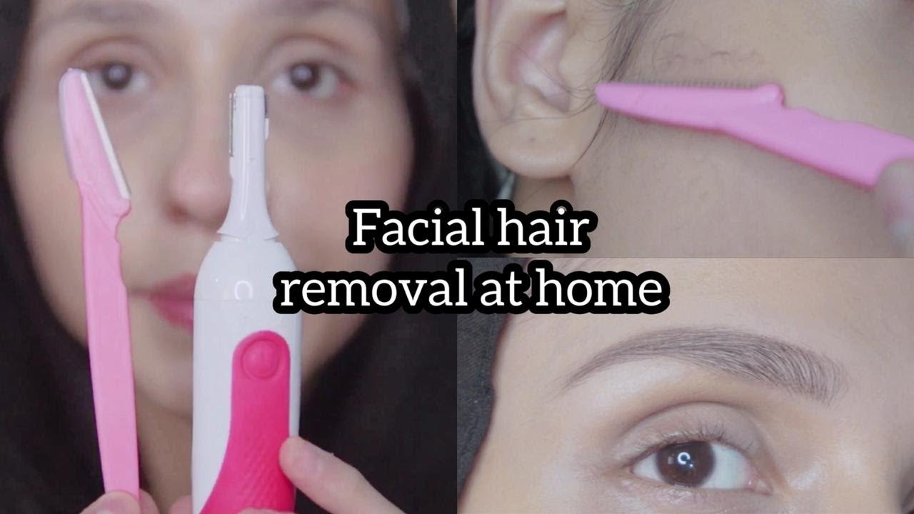 How to Use? Facial hair removal || tinkle razor & veet trimmer