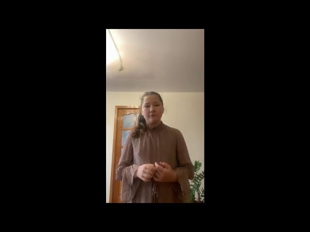 Изображение предпросмотра прочтения – АлинаПашинская читает произведение «На плетнях висят баранки...» С.А.Есенина