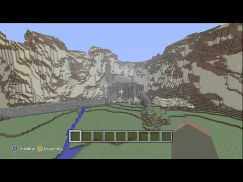 Minecraft (Xbox 360) - Helms Deep w/ Download!