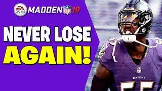 Never Lose Again With This Lockdown Defense!! Madden 19 Tips