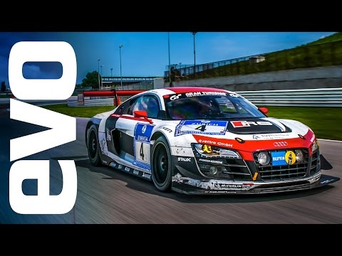 Audi R8 Gt3 Best Sounding Audi Ever Evo Review Youtube