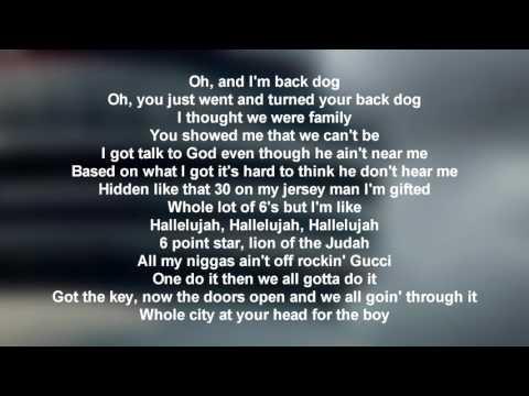 Drake - Still Here (Lyrics Only)