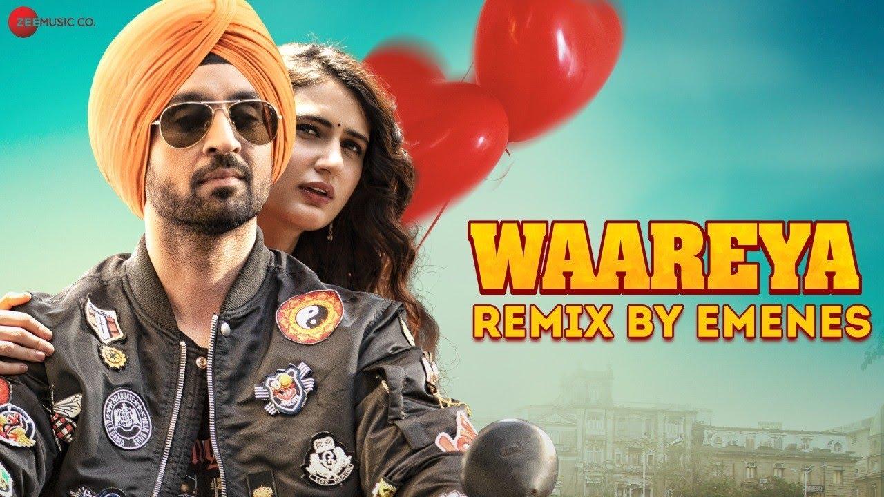 Waareya Remix by Emenes | Suraj Pe Mangal Bhari | Diljit Dosanjh & Fatima Sana Shaikh