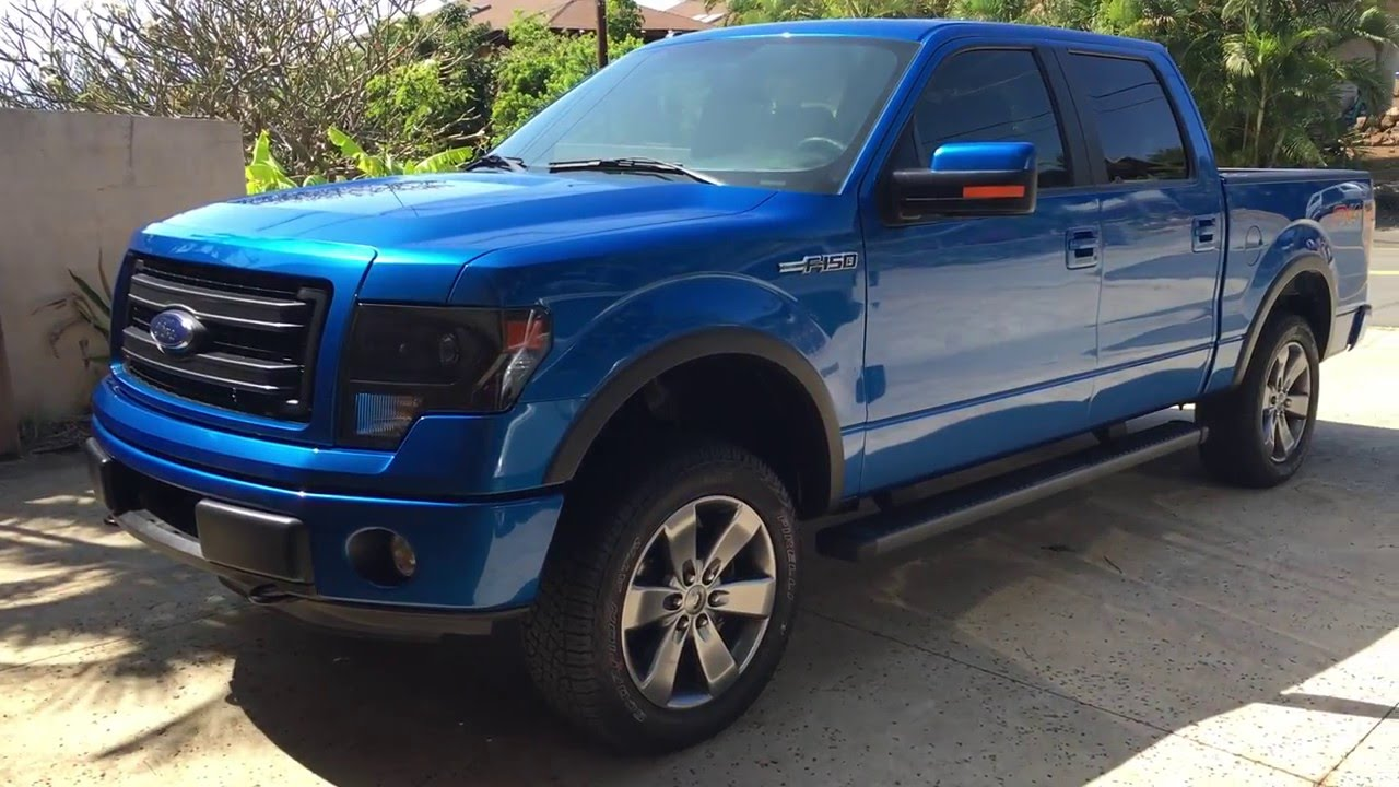 Ford F150 Fx4 2014 With 3 Leveling Kit Youtube