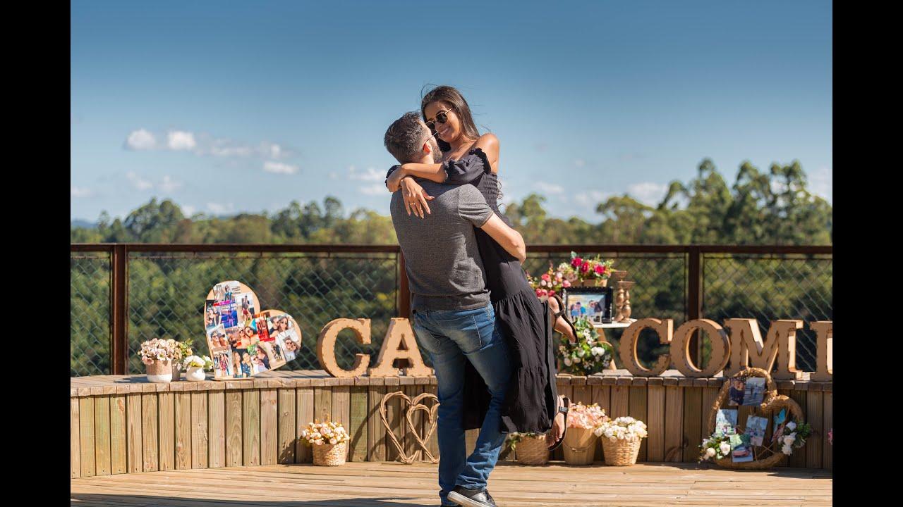 Pedido de Casamento em Canela-RS - Neto e Isabel