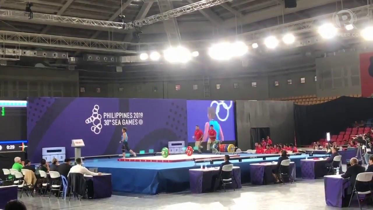 Ph Olympian Hidilyn Diaz Bags Elusive Sea Games Gold Youtube