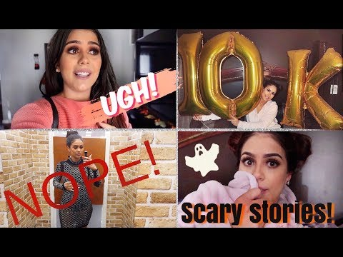 VLOGTOBER 2019   SHOPPING, 10K SUBSCRIBERS! & STORY TIME: PARANORMAL EXPERIENCES