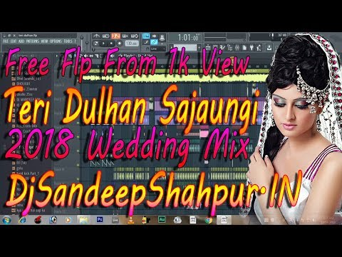 FREE FLP- Teri Dulhan Sajaungi | Barsaat (2005)|| Wedding Son Mix || DjSandeepShahpur.IN