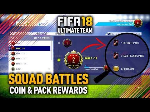 FIFA 18 SQUAD BATTLES! EARN COIN & PACK REWARDS OFFLINE!
