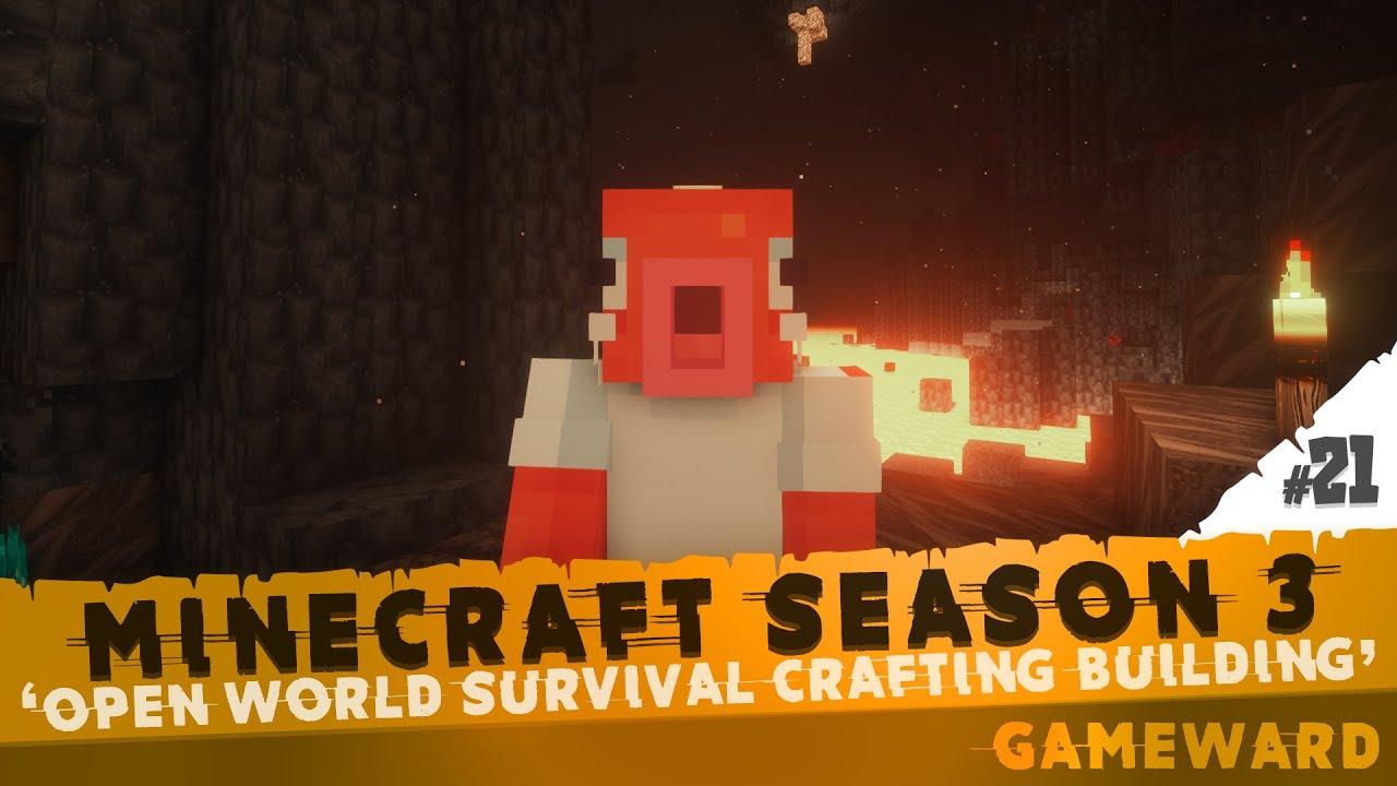 Το Nether είναι τρελό!!! 🔥🔥🔥 #21   Minecraft Season 3   Greek
