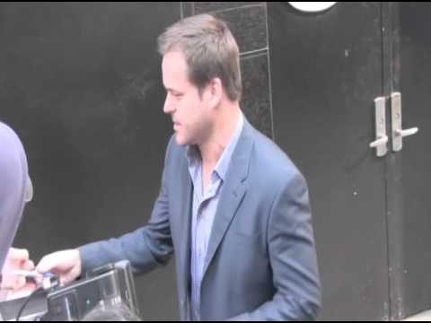 Worst Week star Kyle Bornheimer is snapped leaving the ABC studios in New York City