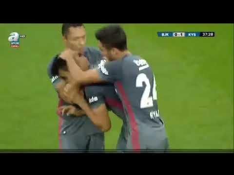 Beşiktaş 1 1 Kayserispor Hazırlık Maçı Özeti HD  02 09 2017