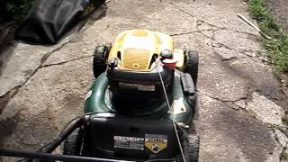 Trash Picked Yard Man 6.5 Self Propelled Lawnmower