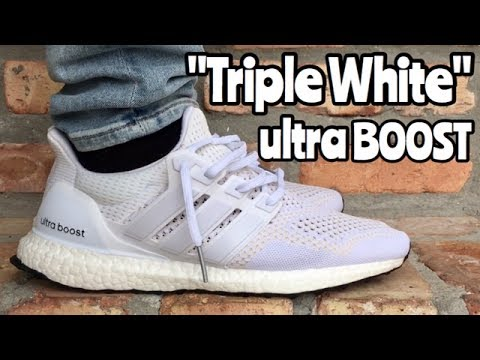 f9b033072c0 ... promo code for adidas ultra boost 1.0 triple white on feet 86574 8564e