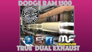 15 dodge ram 1500 magnaflow true dual exhaust by rich s