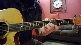 O Come O Come Emmanuel - David Crowder arrangement (Acoustic Guitar)