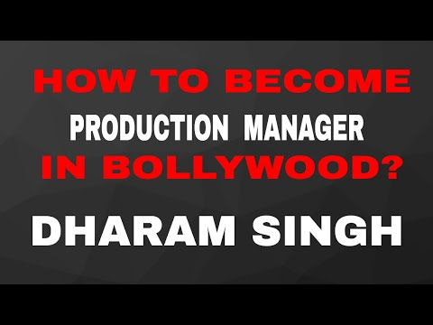 HOW TO BECOME PRODUCTION MANAGER IN BOLLYWOOD? DHARAM SINGH | Filmy Funday # | Joinfilms