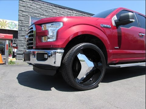 2016 ford f150 with 26 inch rims tires blades youtube. Black Bedroom Furniture Sets. Home Design Ideas
