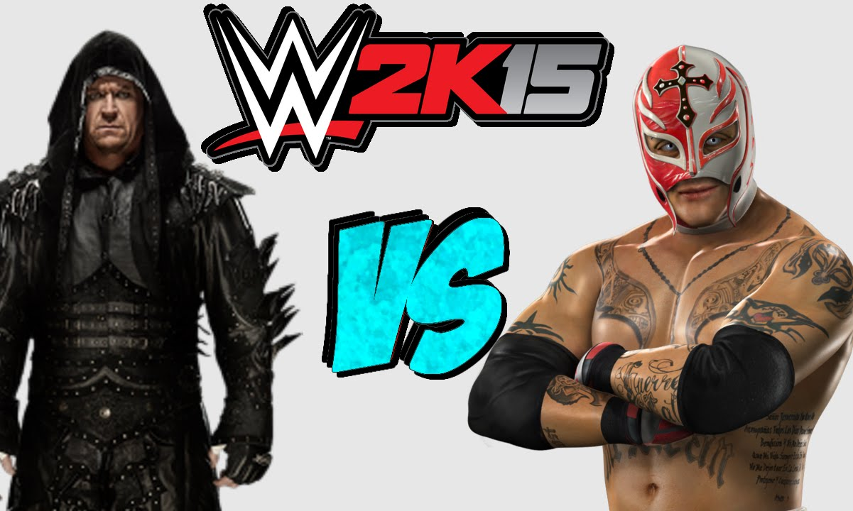 WWE 2K15: Rey Mysterio VS The Undertaker [FR//HD] - YouTube