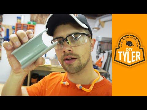 D2D DIY   PVC Tool Hanger Hack