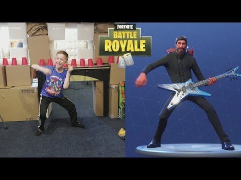 Twin vs Twin:  Fortnite Dance Challenge In Real Life
