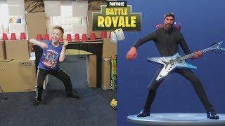 Twin vs Twin: Fortnite Dance Challenge In Real Life