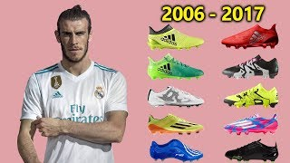 GARETH BALE - NEW SOCCER CLEATS &amp ALL FOOTBALL BOOTS 2006-2017