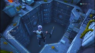 OPENING UP The BUNKER Inside the VOLCANO In FORTNITE!! (Glitch)